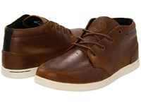 Reef Spiniker Mid Nb Resrv Collection Brown Men's Lace Up Casual Shoes