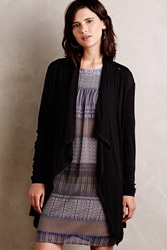 Bordeaux Hutton Cardigan Black