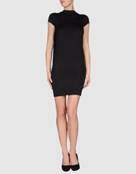 Paolo Errico Short Dresses Black