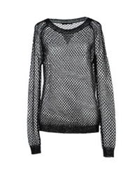 Barbara Bui Long Sleeve Sweaters Black