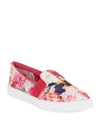 Ted Baker Thfia Point Toe Slip On Sneakers Pink
