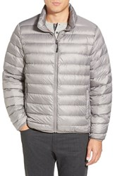 Men's Tumi 'Pax' Packable Quilted Jacket Grey