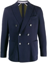 Tombolini Fitted Double Breasted Blazer 60