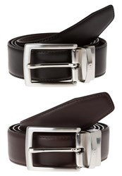 Aigner Belt Black Brown