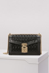 Miu Miu Double Duffle Shoulder Bag