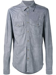 Desa 1972 Chest Pocket Shirt Blue