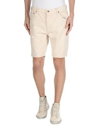 Cheap Monday Denim Bermudas Beige