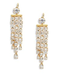 Lauren Ralph Lauren Cubic Zirconia Chandelier Earrings Gold