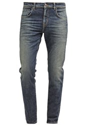 Ltb Diego Relaxed Fit Jeans Benton Undamaged Blue Denim