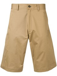 Moncler Classic Chino Shorts Neutrals