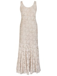 Chesca Pearl Beaded Dress Ivory