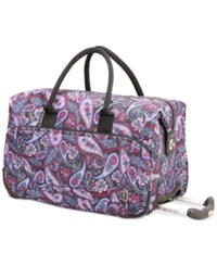 Ricardo Palm Springs 20 Rolling City Duffel Bag Midnight Paisley