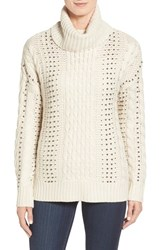 Rd Style Women's Beaded Cowl Neck Sweater