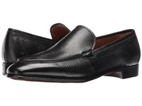 Gravati Deerskin Venetian Loafer Black Men's Shoes
