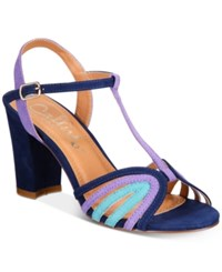 Callisto Campie Dress Sandals Women's Shoes Blue Multi