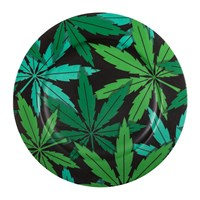 Seletti 'Blow' Porcelain Dinner Plate Weed