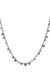 Konplott Planet River Necklace Grey Antique Silver