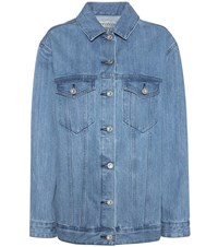 Etre Cecile Oversized Denim Jacket Blue