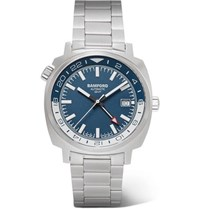 Bamford Watch Department Gmt Automatic 40Mm Stainless Steel Blue