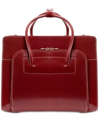 Mcklein Lake Forest Briefcase Red