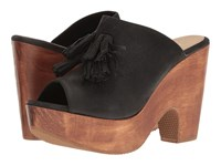 Cordani Caliente Black Nubuck Women's Sandals
