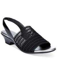 Karen Scott Elmann Sandals Only At Macy's Women's Shoes Black