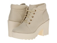 Rocket Dog Caddo White Canvas Women's Lace Up Boots