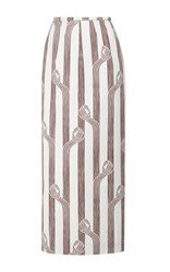 Emilia Wickstead Lia High Waist Skirt Print