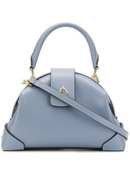 Manu Atelier Demi Tote Bag Blue