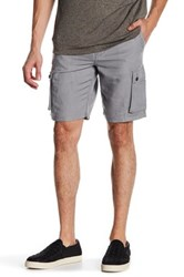 John Varvatos Military Cargo Short Gray