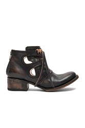 Freebird Surge Booties Chocolate Brown