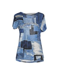 Denny Rose Topwear T Shirts Women Blue