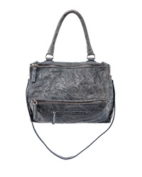 Givenchy Pandora Small Old Pepe Satchel Bag Mineral Blue