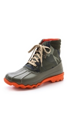 Sperry Avenue Duck Boots With Camo Shaft Green Camo