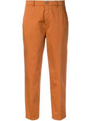 Berwich Chicca Cropped Trousers Brown