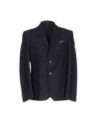 Yes Zee By Essenza Blazers Dark Blue
