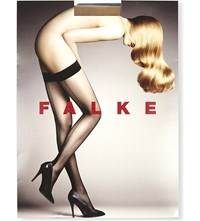 Falke 8D Back Seam Hold Ups 4343 Powder Black