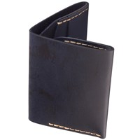 Bison Slim Bi Fold Wallet Navy