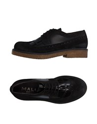 Mally Lace Up Shoes Dark Brown