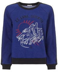 Surface To Air Violet Pegasus Sweater Light Grey