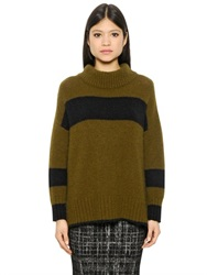 Essentiel Mohair And Wool Blend Knit Sweater
