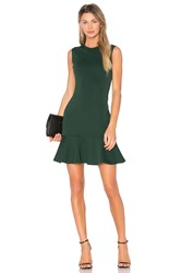 Mcq By Alexander Mcqueen Peplum Tank Dress Green