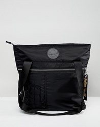 Dr. Martens Dr Black Flight Tote Backpack Black Nylon Black