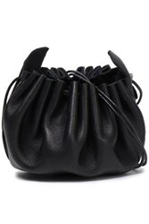 Ann Demeulemeester Woman Leather Pouch Black