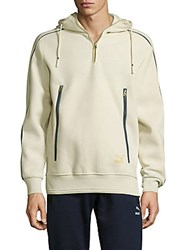 Puma Archive Long Sleeve Zipper Jacket White