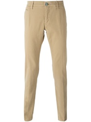 Jacob Cohen Classic Chinos Nude And Neutrals