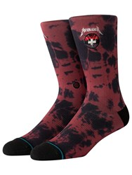 Stance Master Of Puppets Socks Red