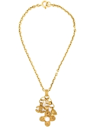 Chanel Vintage Charm Pendant Necklace