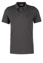 Selected Homme Shdaro Polo Shirt Pavement Grey