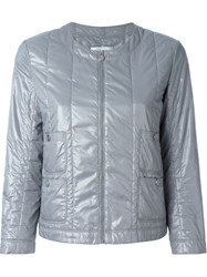 Chanel Vintage Quilted Jacket Grey
